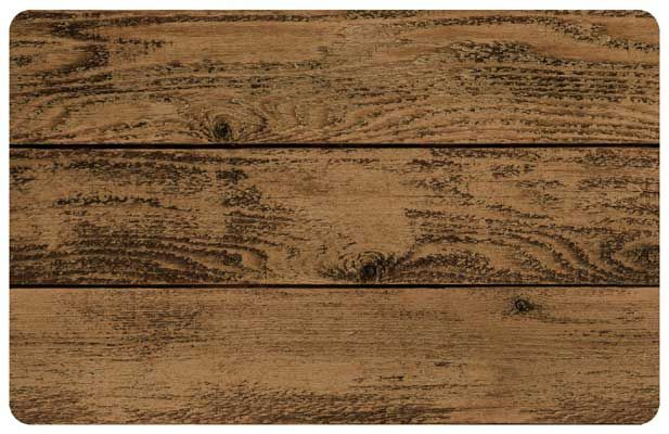 Darkside Timber Wod Door Mats, Beautiful Realistic Looking Barnboard Door Mat