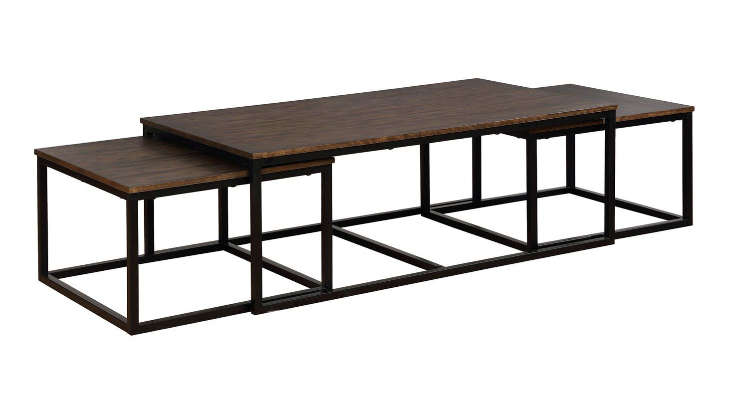 Hensley 3 Piece Coffee Table And Nesting Tables Set 4 Piece Coffee Table Coffee Table Nesting Tables [ 800 x 1481 Pixel ]