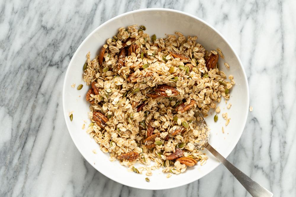 Cardamom Maple Pecan Granola Recipe with Pumpkin Seeds ...