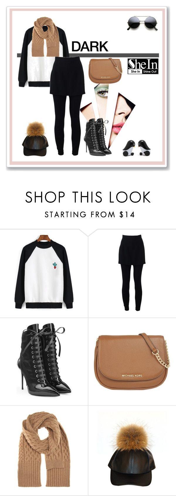"""Contrasts"" by ul-inn ❤ liked on Polyvore featuring Dolce&Gabbana, Giuseppe Zanotti, MICHAEL Michael Kors, Maison Margiela, women's clothing, women's fashion, women, female, woman and misses"