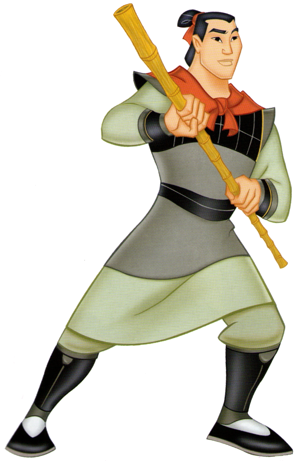 Image result for disney princes li shang
