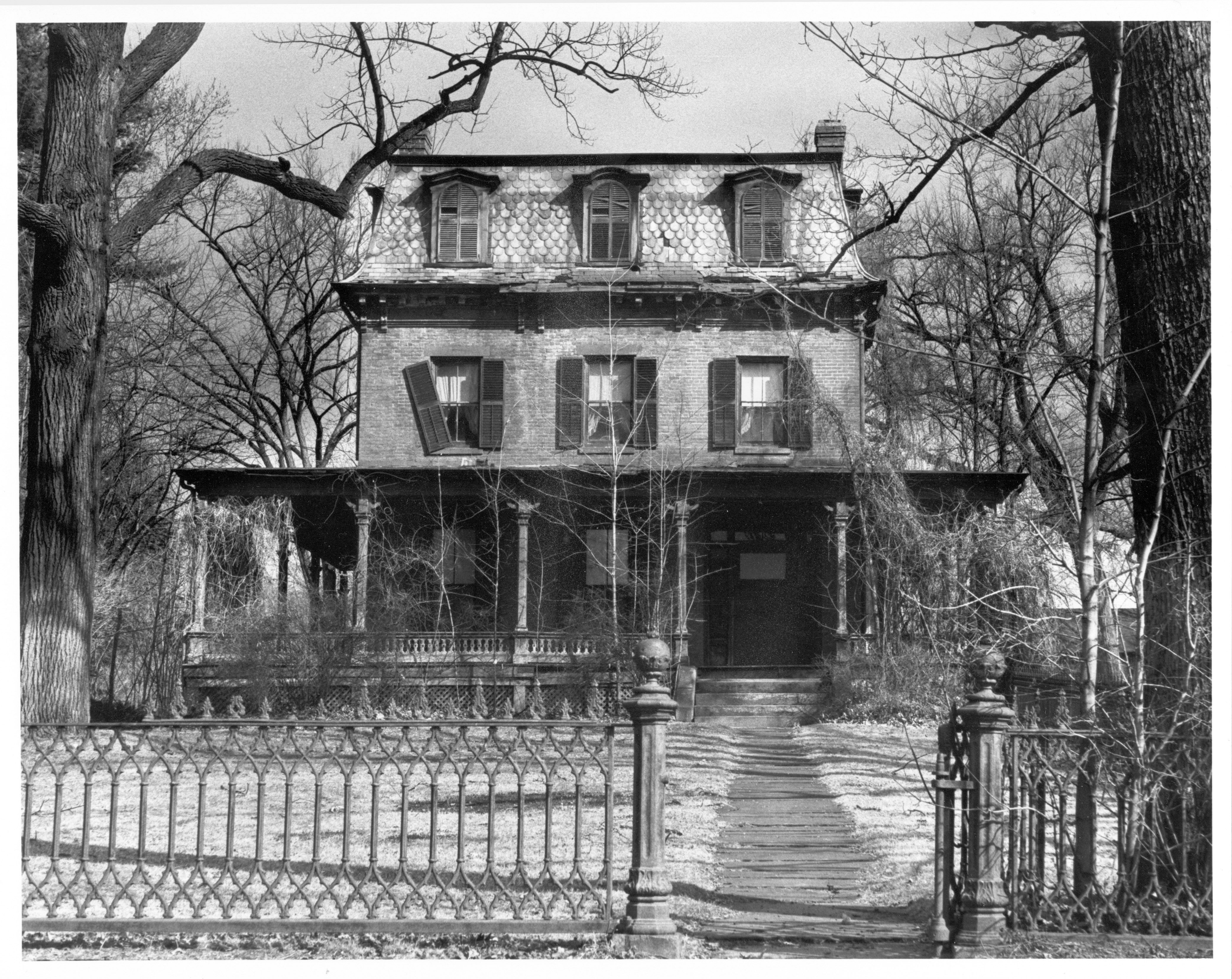 A old dorm house supposed haunted by a little child...