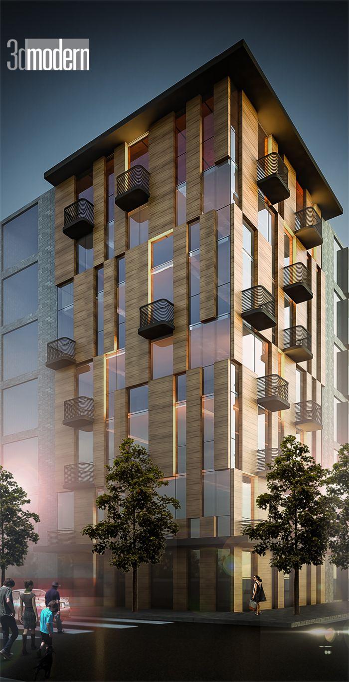 Facade: Modern Architecture,Modern Facade,Modern Mimari,Modern Dış