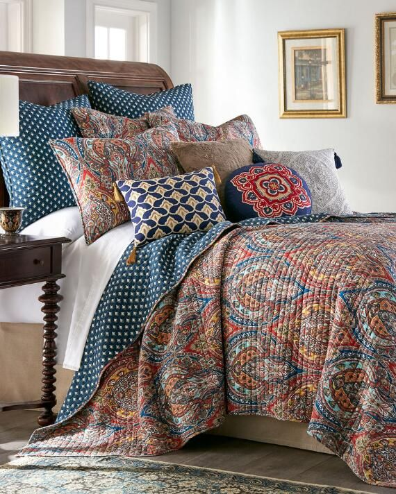Nina Home by Nina Campbell Allegro Luxury Quilt | Full/queen ... Names Nina Comforter Home Designs on