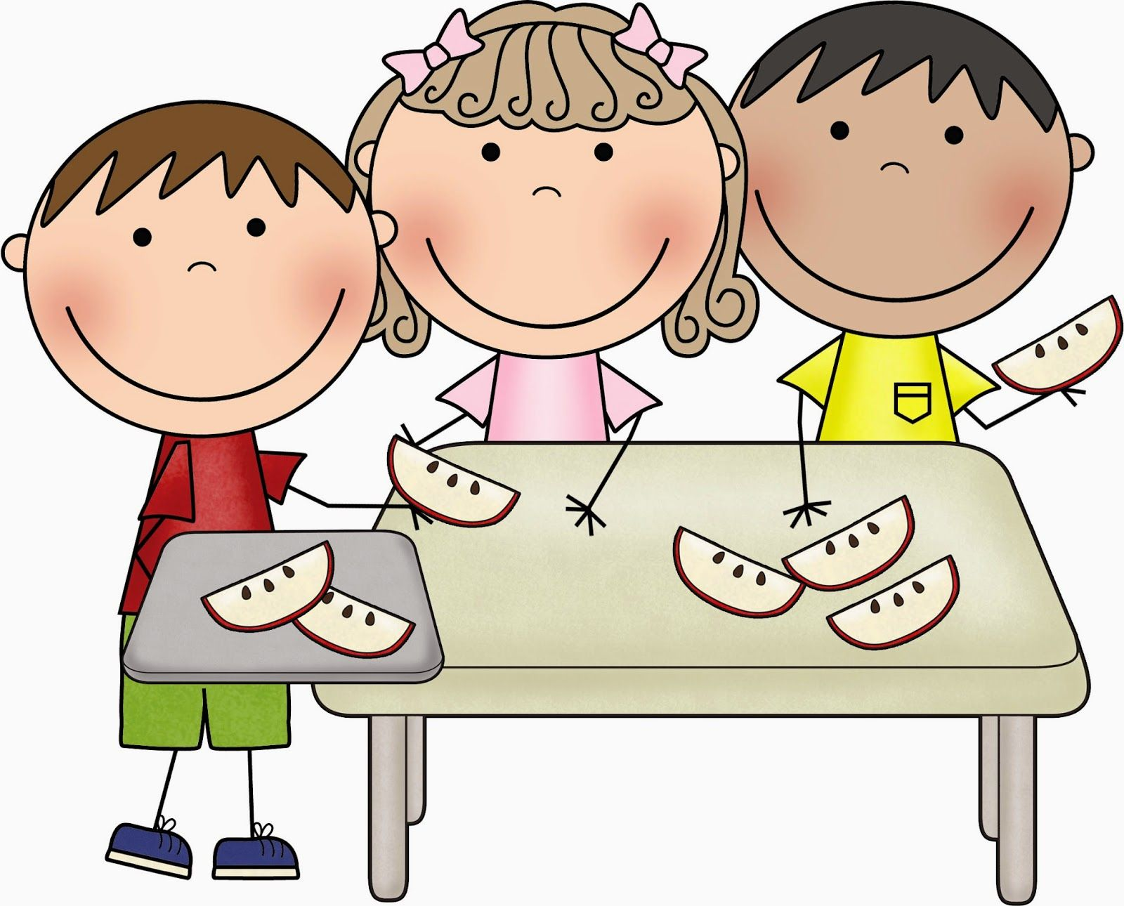 Healthy Snacks For Kids Clip Art