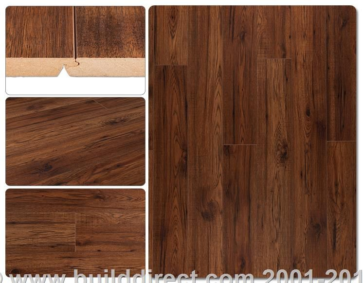 builddirect laminate flooring 12mm woodcraft collection amber hickory