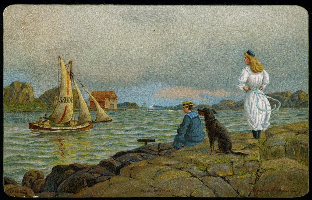 JOHNSSEN, Hjalmar. Eneret J.F. datert 25.11.1896