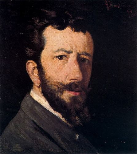 Zandomeneghi, Federico (1841-1917) - 1877-78 Self Portrait (Private Collection)