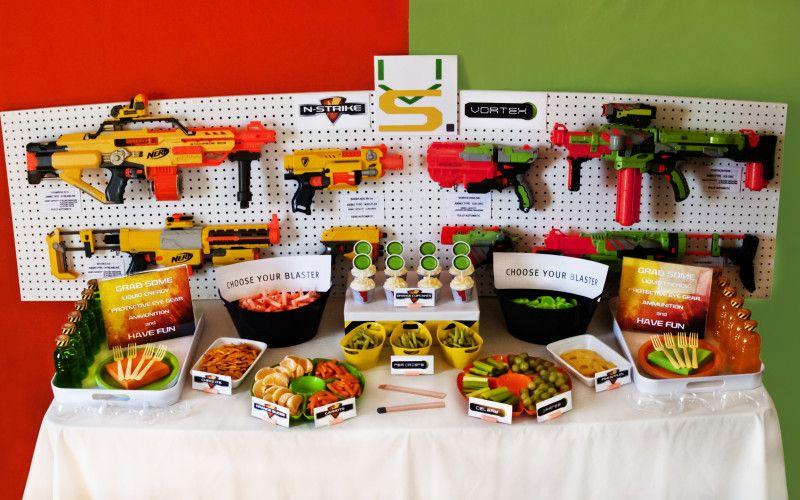 nerf gun party games - Google Search