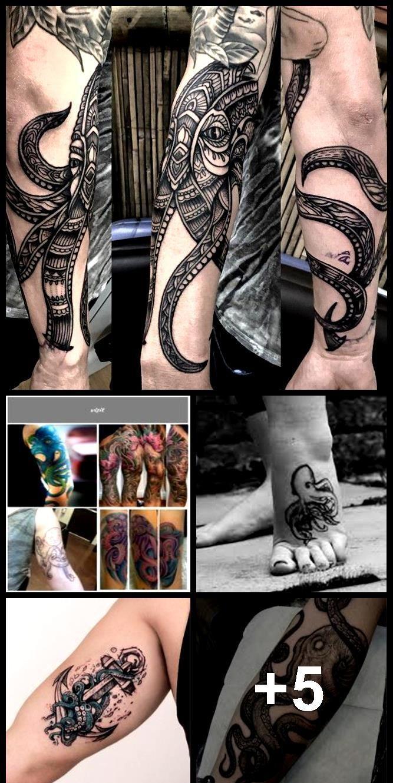 Photo of Octopus Tattoos und Bedeutungen-Octopus Tattoo Designs-Squid Tattoos, Designs un…