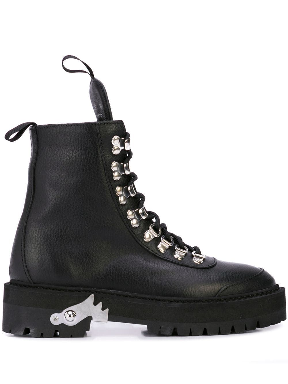 Off-White lace-up Hiking Boots - Farfetch