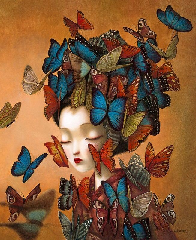 a41f20274e7a Benjamin Lacombe - Madame Butterfly | Fine Art ~ Group | Butterfly ...