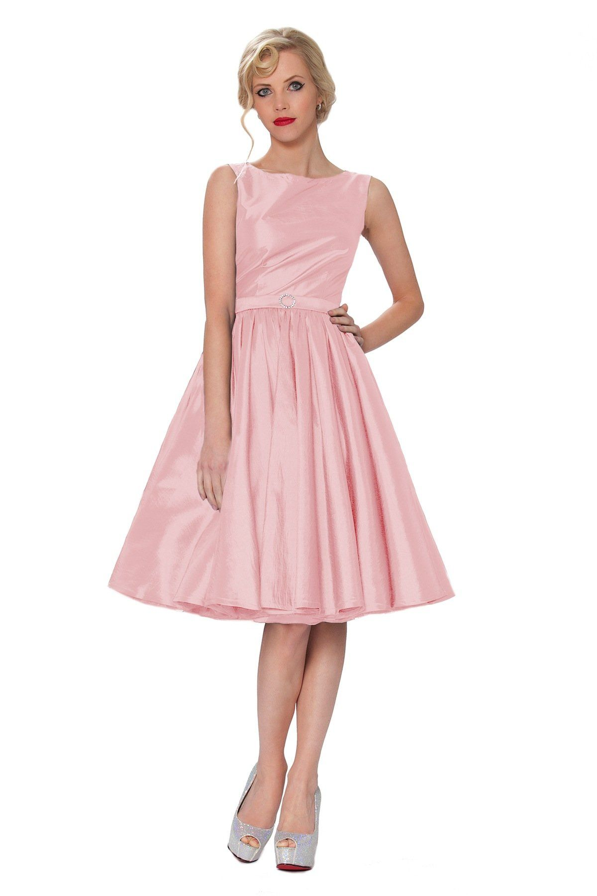 Sexyher audrey hepburn style 1950s rockabilly swing dress sexyher audrey hepburn style 1950s rockabilly swing dress rbj1401lightpink 48tus16 ombrellifo Image collections