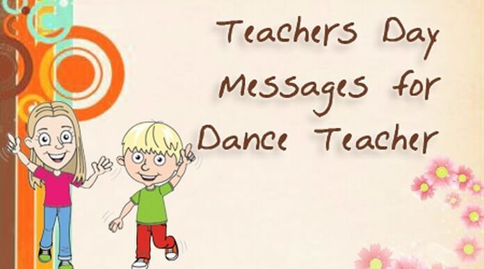Thank the dance teacher for the graceful moves and dance steps he - dance instructor job description