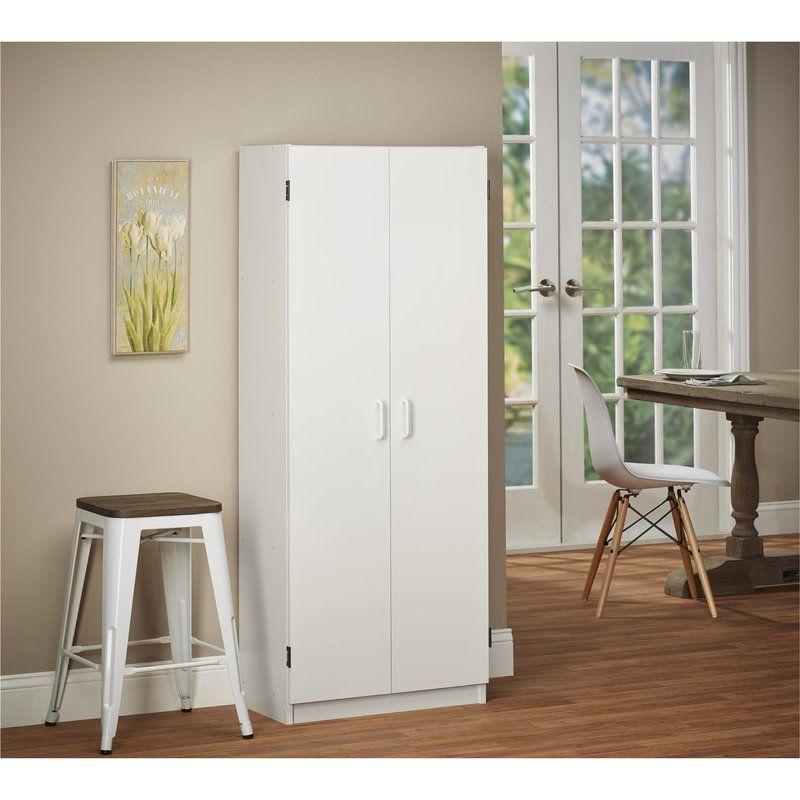 Gwendoline Storage Cabinet Freestanding Storage Cabinet Wooden Storage Cabinet Kitchen Pantry Storage Cabinet