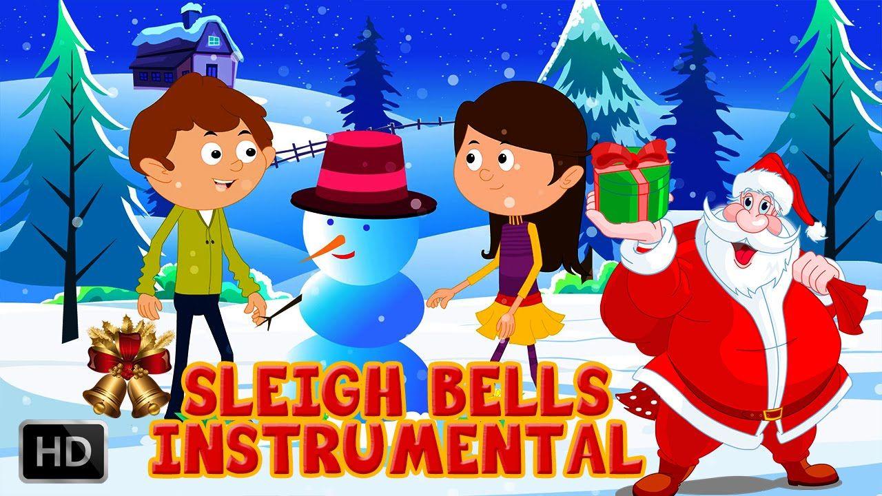 Christmas Sleigh Bells Sounds Sound Effect Christmas Carols For Kids Sleigh Bell Christmas Sleigh