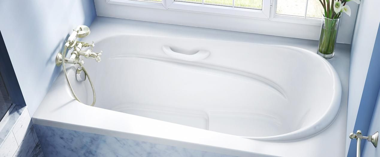 Bainultra Amma® 6036 alcove drop-in air jet bathtub for your master ...