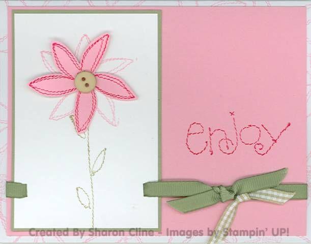 Sew Enjoy! by nanastamps - Cards and Paper Crafts at Splitcoaststampers