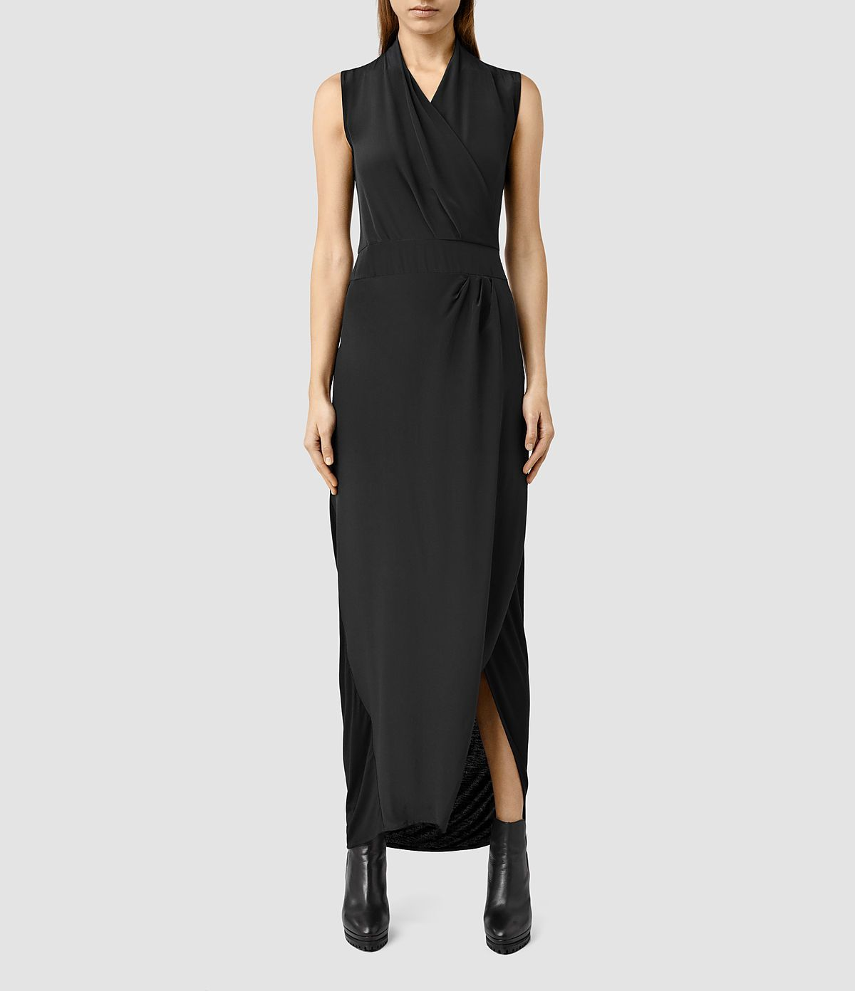 Women's Lani Dress (Black/Black) -