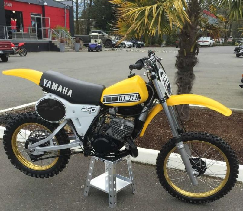 Building A 1981 Yamaha Yz465 Factory Replica Adventure Rider Also Yamaha Yz250 Petition 1981 B Usa Transmission Yz250h Further Bike Motorcycle Cafe Racer Build