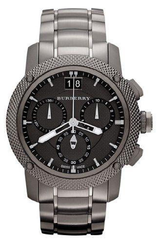Burberry BU9801 Watch Endurance Mens – Black Dial Stainless Steel Case Quartz Movement - http://worldwidewatchcompany.com - #www.co