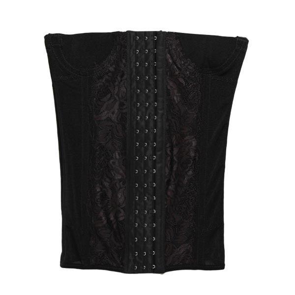 a71e8dca998 7 Steel Bones Soft Smooth Elastic Powerful Lace Flower Pattern Slimming  Shapewear  woohooshop