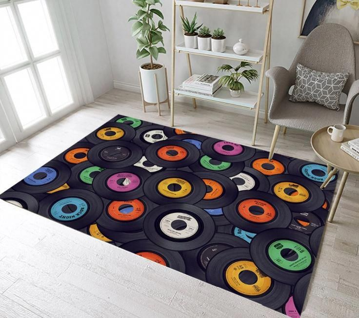 This unique modern rug is definitely a very inspiring and extraordinary idea #modernrug