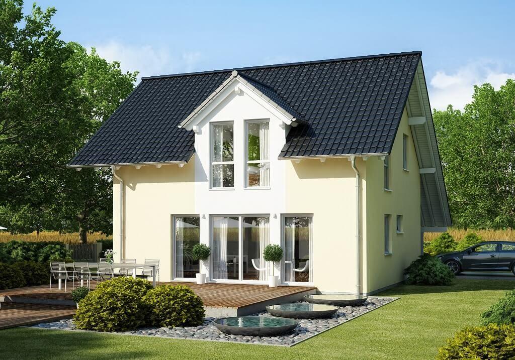 FERTIGHAUS BAUEN \/\/ Haus Celebration 125 V2 Bien Zenker - haus modern bauen
