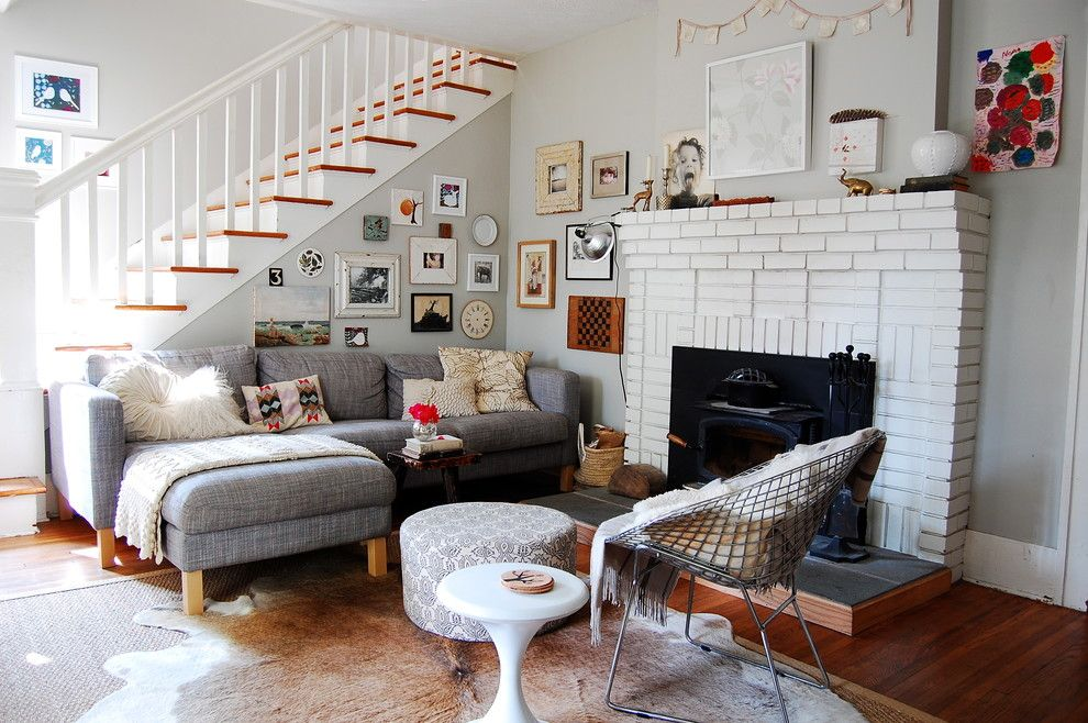 Amazing Ikea Karlstad Sofa Review Decorating Ideas Gallery In Living Room Eclectic Design