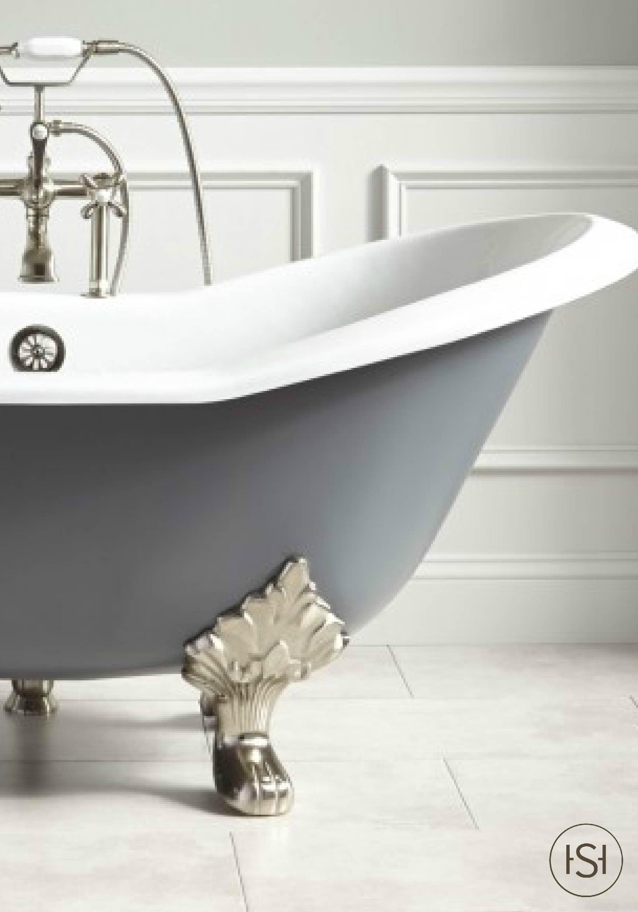A Painted Bathtub Can Add Instant Personality And Style To Your