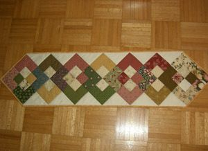 Free Table Runner Patterns | Here Is A Lovely Quilted Table Runner That Is  Easy To