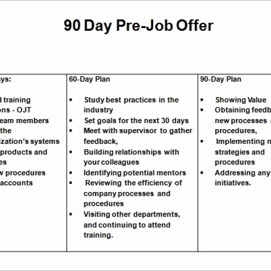 Day Business Plan Template Powerpoint For Job Interview