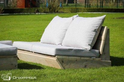 Lounge Bankje 2 Zits.Loungebank Montecastelli 2 Zits 70 Ies Naar Huis In Bos Tuin Buiten
