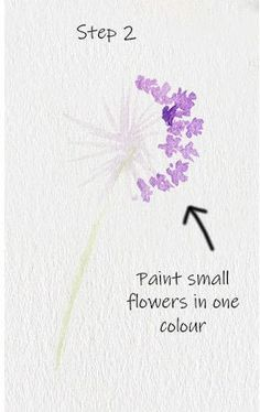 Allium Floral Watercolor Tutorial · How To Paint A Piece Of Watercolor Art · Art on Cut Out + Keep