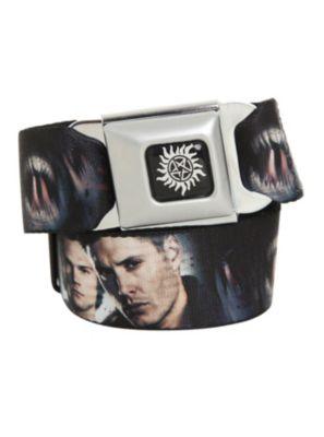 4b75dad654e Supernatural Face Seat Belt Belt
