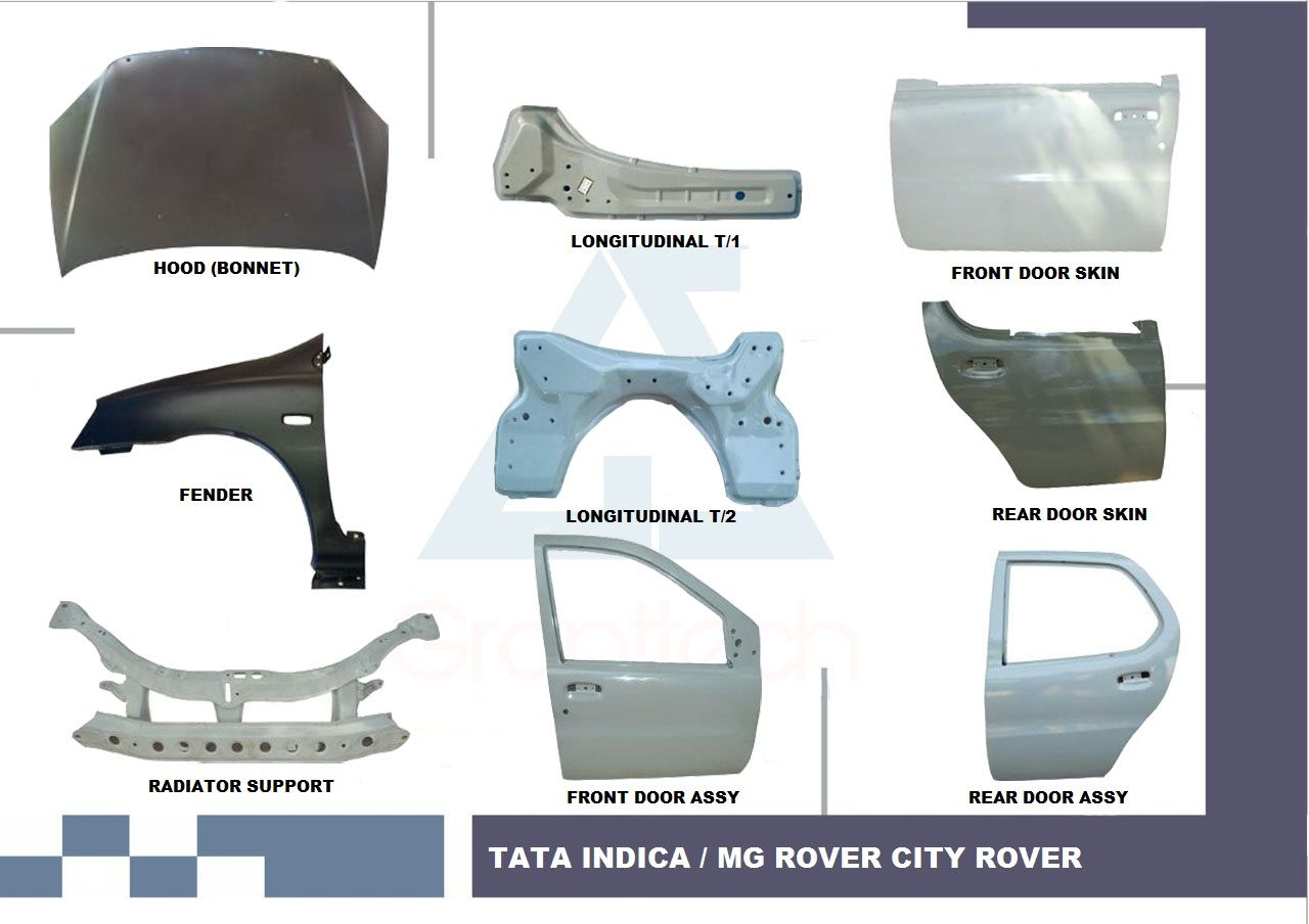 Tata Indica Body Parts, Tata Body Parts, Tata Car Body Parts, Tata ...