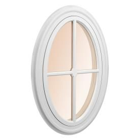 Awsco Oval Replacement Window (Rough Opening: 29.5-In X 46 ...