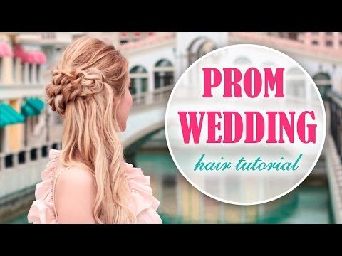 Marvelous Prom Wedding Hairstyle With Side Swept Curls Braid For Long Short Hairstyles For Black Women Fulllsitofus