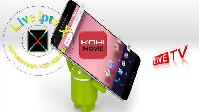 Iptv App - Kohi Movie Live TV APK Download IPTV Android APK