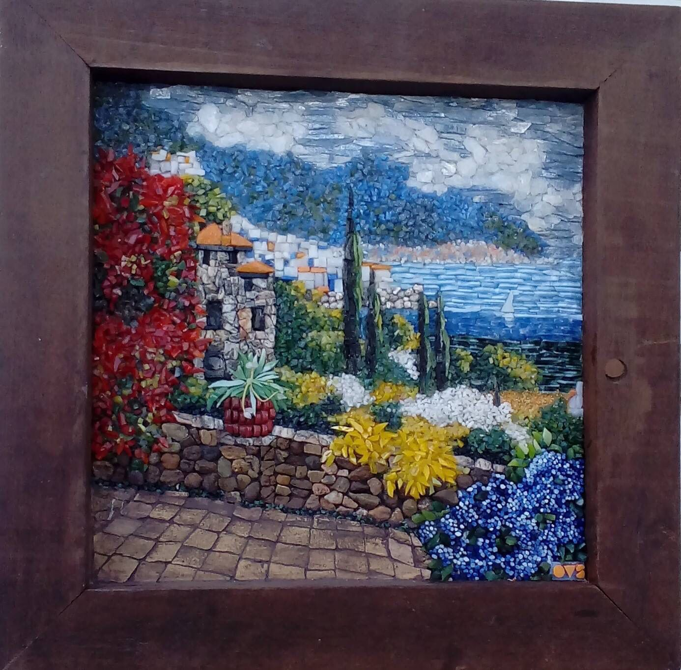 Pin by karen st marie on mosaics pinterest mosaics glass and clay