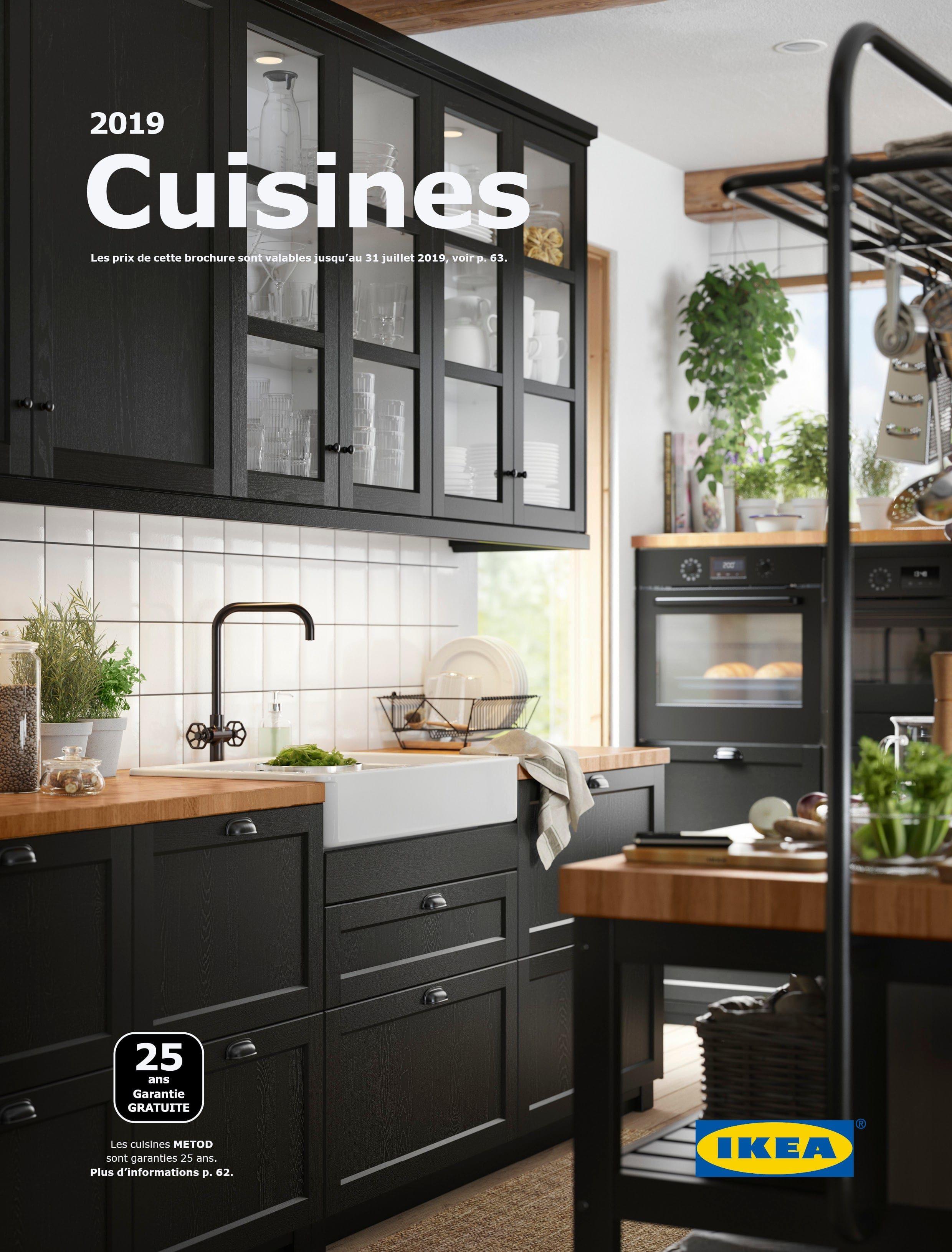 Brochure Cuisines 2019 Ikea Idee Deco Cuisine Amenagement