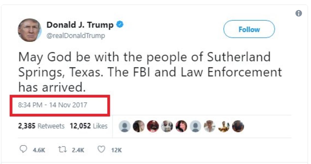 Trump Tweets Condolences To Wrong Shooting Condolences Funny Memes Trump Tweets