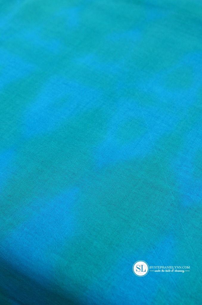 How to Simple Folded Pattern Tie Dye