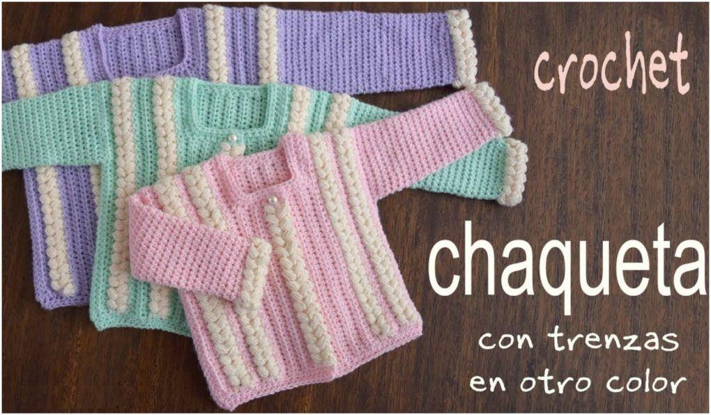 Jacket With Braids Crochet Tutorial