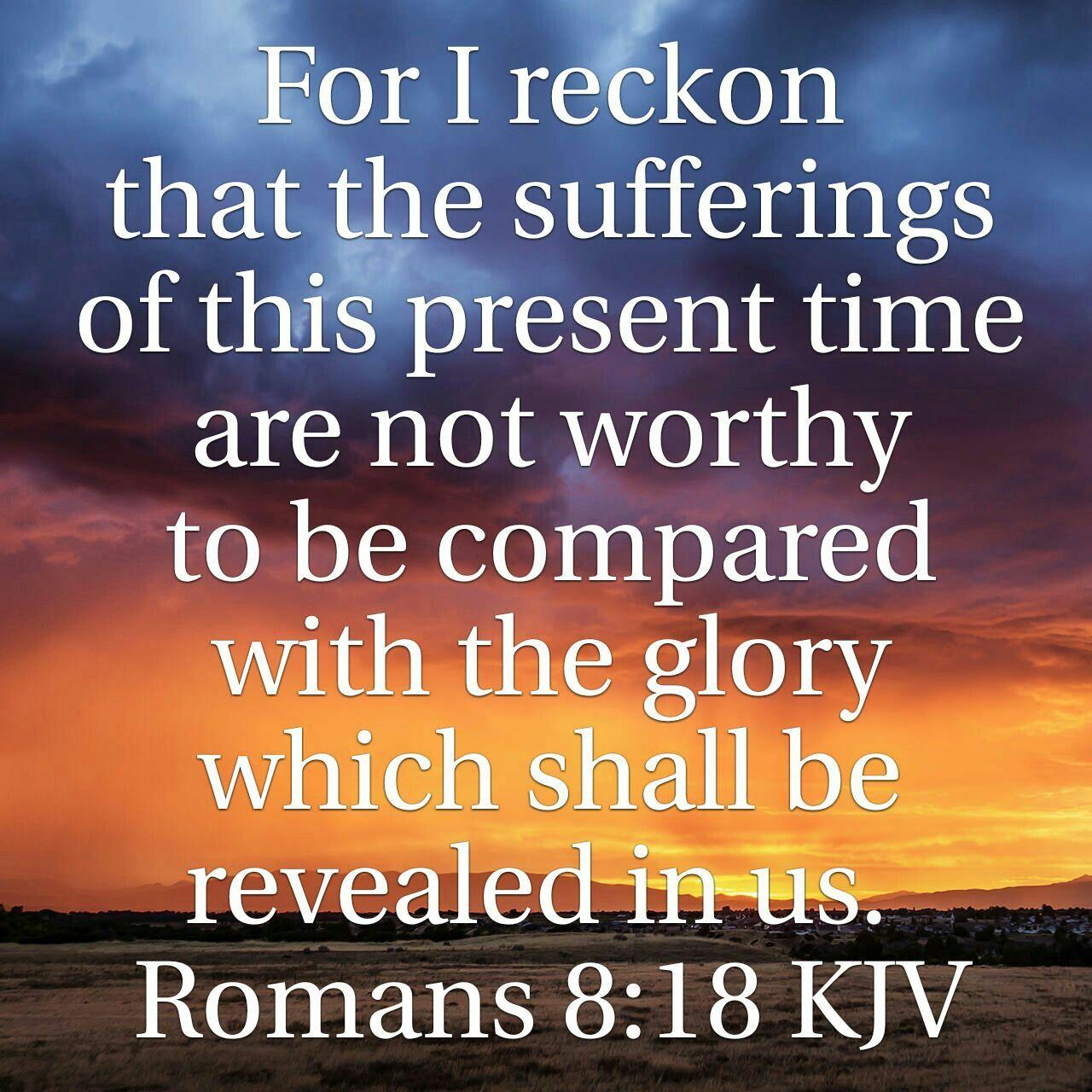 Image result for Romans 8:18 kjv