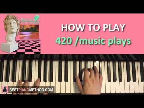 HOW TO PLAY - MACINTOSH PLUS -  リサフランク420 / 現代のコンピュー (Piano Tutorial Les...