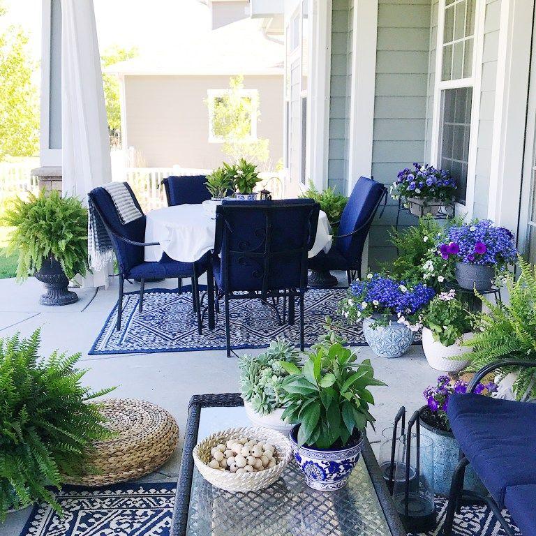 Summer Home Tour Decorating Ideas Avec Images Decoration Jardin