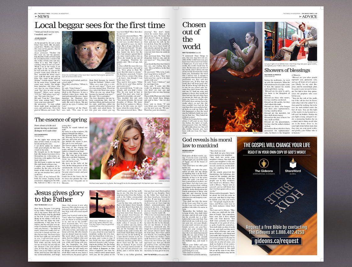 5 Newspaper Style Templates Bundle