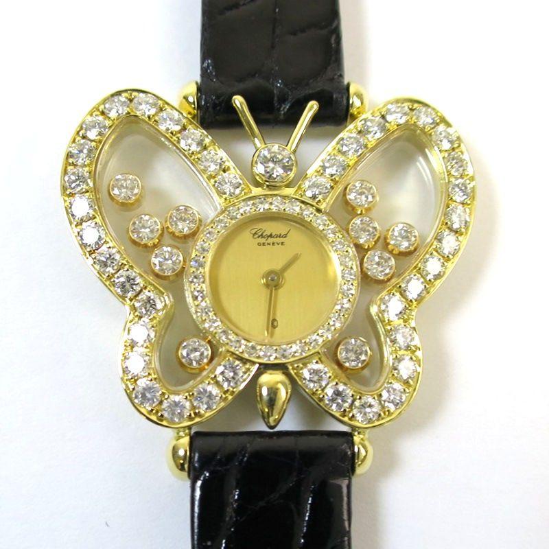 wholesale dealer bc723 73c4d 中古】Chopard(ショパール) 5222 ハッピーダイヤモンド ...