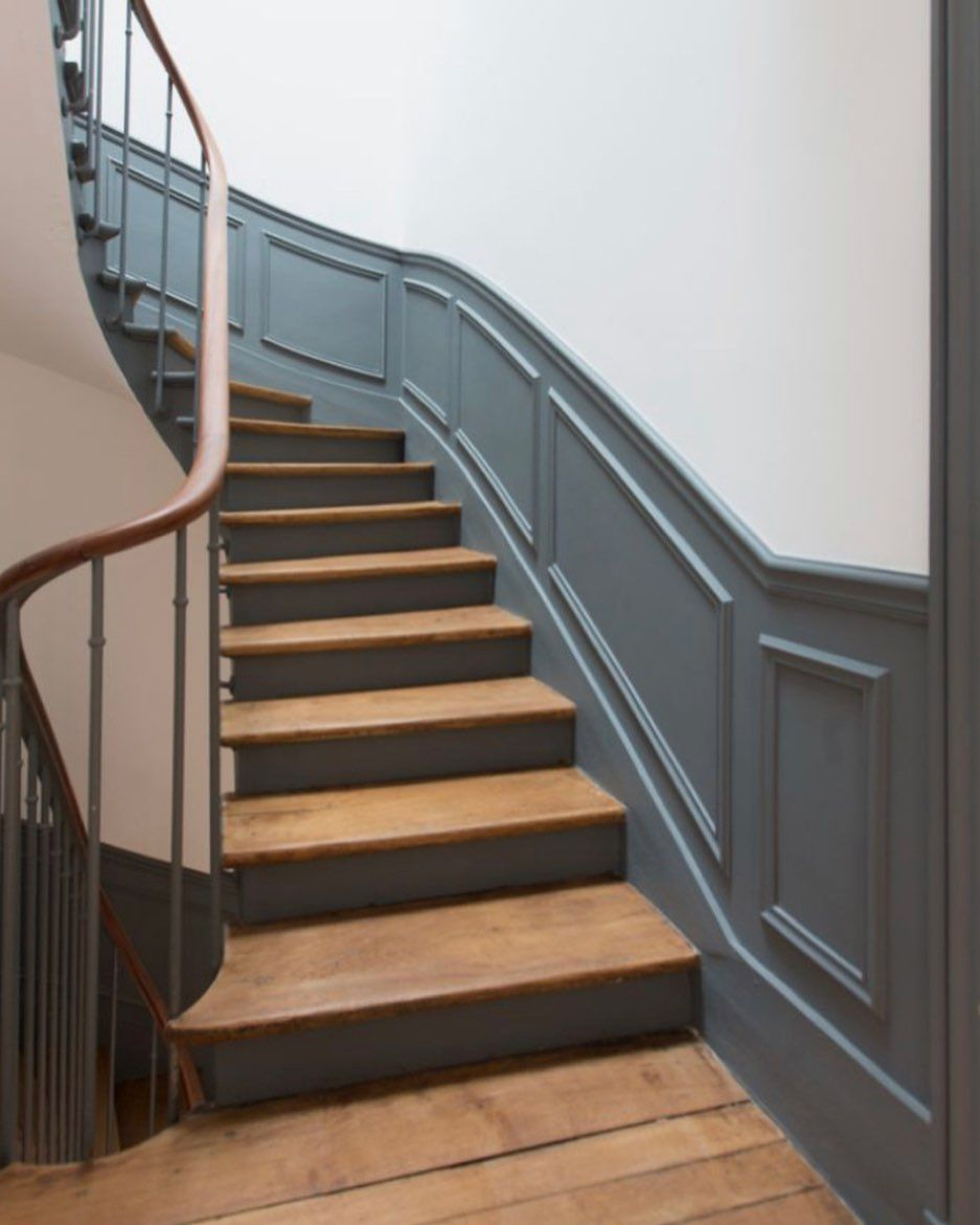 "21 Attractive Painted Stairs Ideas Pictures: The Victorian Emporium On Instagram: ""Another Set Of"